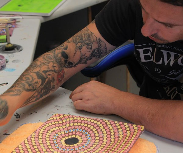 Aboriginal Artist Joel Haddock